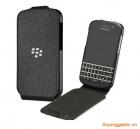 Bao da blackberry Q10 chính hãng (Blackberry leather flip shell)