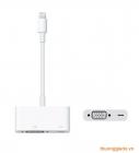Apple Lightning to vga adapter-Cáp chuyển đổi từ chuẩn Lightning sang VGA