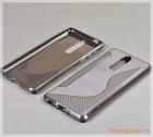 "Ốp lưng silicone Nokia 8 (5.3"") màu đen (hiệu S Line)"