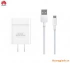 Bộ củ sạc nhanh+cáp usb Huawei HW-059200CHQ Chính Hãng (9V-2A) Huawei Quick Charge