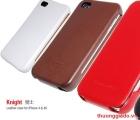 Bao Da iPhone 4, iPhone 4S , Hiệu HOCO, Da mịn