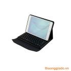 """Bàn Phím Bluetooth Samsung Tab A 9.7""""/ P555/ P550 kèm bao da book cover (da mịn)"""