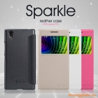 "Bao Da Lenovo P70 (5.0""), Hiệu NILLKIN, Sparkle Leather Case"