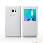 Bao Da S View Case Chính Hãng Cho Samsung Galaxy S6 Edge Plus G928 Màu Trắng