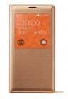 Bao Da S View Cover Chính Hãng Cho Samsung Galaxy S5 G900 Màu Vàng Champagne