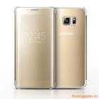 Bao Da Samsung Galaxy S6 Edge Plus/ S6 Edge+ Clear View Case Chính Hãng