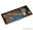 Thay màn hình nguyên khối Sony Xperia Z3_L55_D6603 Chính Hãng(Kèm viền Benzel)