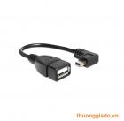 Cáp OTG từ Mini USB sang cổng Cắm USB