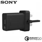 Củ Sạc Nhanh Sony UCH10 Chính Hãng (Loại 3 chân), Xperia Z5, Z5 Premium, Z5 compact