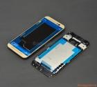 Thay thế vành viền bracket HTC One M9 Màu Vàng Gold