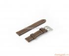 Dây da đeo tay (22mm) cho đồng hồ thông minh Samsung R380, R381, r382, LG W100, W110, W150