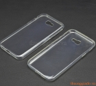 Ốp lưng silicone siêu mỏng cho Samsung Galaxy. A7 (2017), Samsung A720, Ultra thin soft case