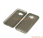 Ốp lưng silicon HTC One ME màu xám đục