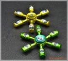 Fidget Spinner, con quay 6 cánh hình chai bia (mẫu 4)
