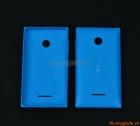 Nắp lưng (nắp đậy pin) Microsoft Lumia 435, Lumia 532 Màu Xanh Dương Original Back Cover
