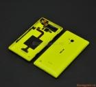 Nắp lưng Nokia Lumia 720 Màu Vàng Yellow Back Cover