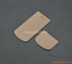 Miếng dán da màu cà phê sữa cho Nokia 8800 Sapphire Arte,Carbon Arte,Gold Arte(vân to)