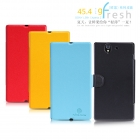 Bao Da Sony L36i/L36h(Xperia Z) Fresh Series Leather Case