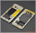 Thay thế vành viền Benzel Samsung Galaxy Note 5 chính hãng màu vàng champagne