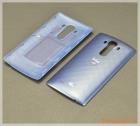 Nắp lưng (nắp đậy pin) LG G4 chính hãng, vân nổi kim cương, màu xanh