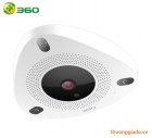 Qihoo 360 IP SMART CAMERA D688 (camera góc nhìn xoay 360 độ, phát hiện chuyển động)