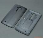 Nắp lưng (nắp đậy pin) LG G4 F500 Màu đen (Nhựa giả da)