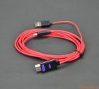 Cáp MHL 11 chân, hỗ trợ 4K_HDMI Adapter, dài 1.8m