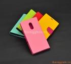 Bao da cầm tay Mi - Redmi Note  4 (hiệu Mercury, New Fancy Diary Case)