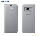 Bao da Samsung Galaxy S8+/ S8 Plus/ G955 Led View Cover chính hãng (màu bạc)