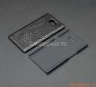 Ốp lưng nhựa giả da cá sấu cho BlackBerry Priv (màu đen)