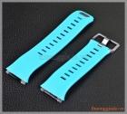 Dây đồng hồ smartwatch Fitbit Ionic (cao su, màu xanh lơ)