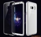 Ốp lưng Samsung Galaxy S8/ G950, lưng trong viền mạ màu (ROCK Pure Series)