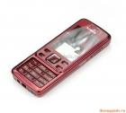 Vỏ Nokia 6300 Màu Đỏ (full hosung)