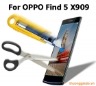 Miếng dán kính cường lực OPPO Find 5 X909 Tempered Screen Protector
