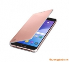 Bao da Samsung Galaxy  A7 (2016),Samsung A710 Clear View Cover màu hồng chính hãng