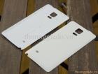 Nắp lưng da Samsung Galaxy Note 4 Màu Trắng