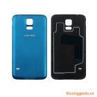 Nắp lưng (Nắp đậy pin) Samsung Galaxy S5 G900 Màu Xanh Chính Hãng