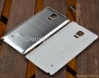 Nắp lưng nhôm cho Samsung Galaxy Note 4 N910 Màu Trắng Bạc