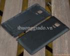 Nắp lưng Samsung Galaxy Note 4 Da Màu Đen