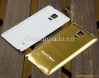 Nắp lưng nhôm_nắp đậy pin nhôm_Vỏ lưng Samsung Galaxy Note 4 Màu Vàng