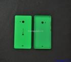 Nắp lưng-Nắp đậy pin Microsoft Lumia 540 Màu Xanh Ngọc Thạch