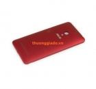 Nắp lưng-Nắp đậy pin-Vỏ Asus Zenfone 5_A500_A501_Màu đỏ_Original Back Cover