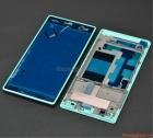 Thanh vành viền Bracket Sony Xperia C3 S55t màu xanh bạc hà