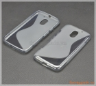Ốp lưng silicone Moto E3 soft protective case (hiệu S-Line)