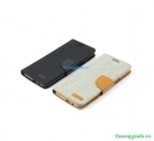 Bao Da HTC One ME Wallet Flip Leather Case (hiệu Mercury)