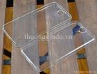 Ốp lưng silicon siêu mỏng HTC  One E9 Plus Ultra Thin Soft Case