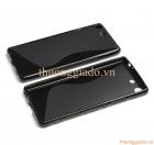 Ốp lưng silicon Sony Xperia M5 (Hiệu S Line) TPU Soft Case