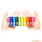 Pin Xiaomi ZI5 Bảy sắc cầu vồng (10 viên pin AA, Alkaline Battery)