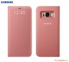 Bao da Samsung Galaxy S8+/ S8 Plus/ G955 Led View Cover chính hãng (màu hồng)