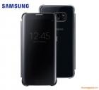 Bao Da Samsung Galaxy S7 Edge NG935 Clear View Cover Màu Đen Chính Hãng